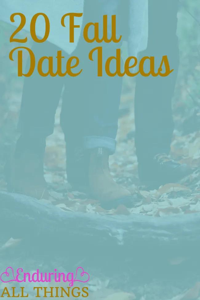 20 Perfectly Festive Fall Date Ideas