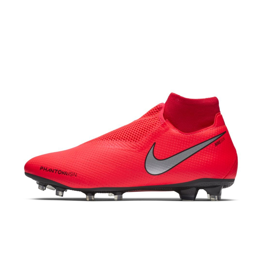 Nike Phantom Vision Pro Dynamic Fit FG Firm-Ground Soccer Cleat. Nike.com #redshoes