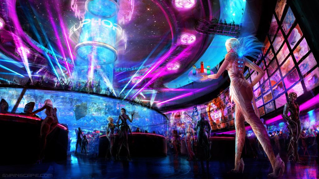 Scifi Club Euphoria by AyarnE Numenera in 2019