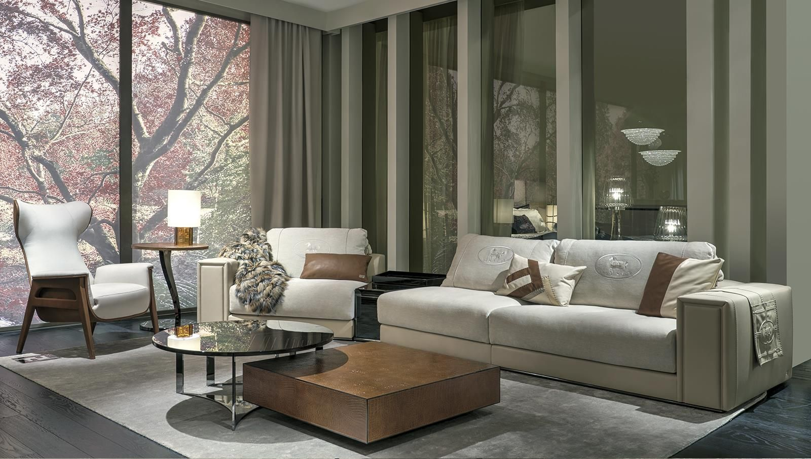 Mobili Fendi ~ Fendi casa interior collections by luxury living group fendi