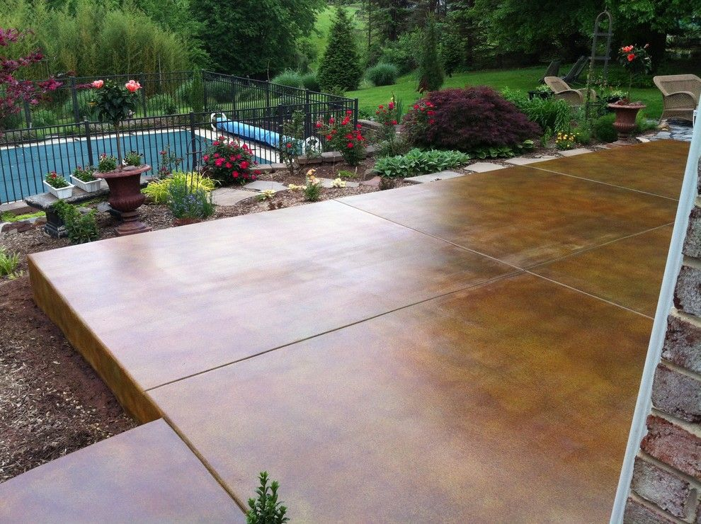 Polished Concrete Patio   Google Search