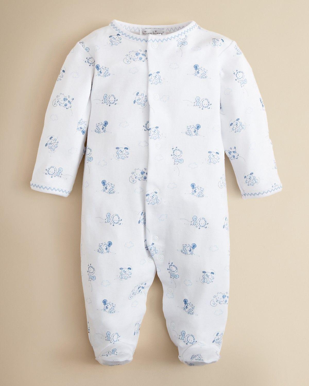 Kissy Kissy Infant Boys Dog Print Footie Baby Girl Pajamas Baby Boy Baby Boy Clothes Newborn