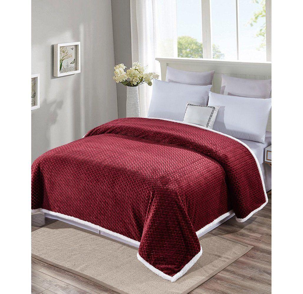 Daily Deal Blankets Reversible Sherpa Blanket – UntilGone.com