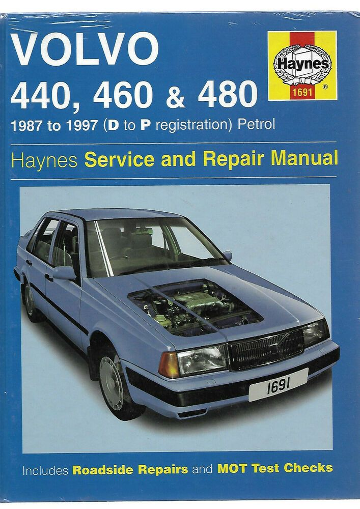 Details About Haynes New Sealed Volvo 440 460 480 Turbo