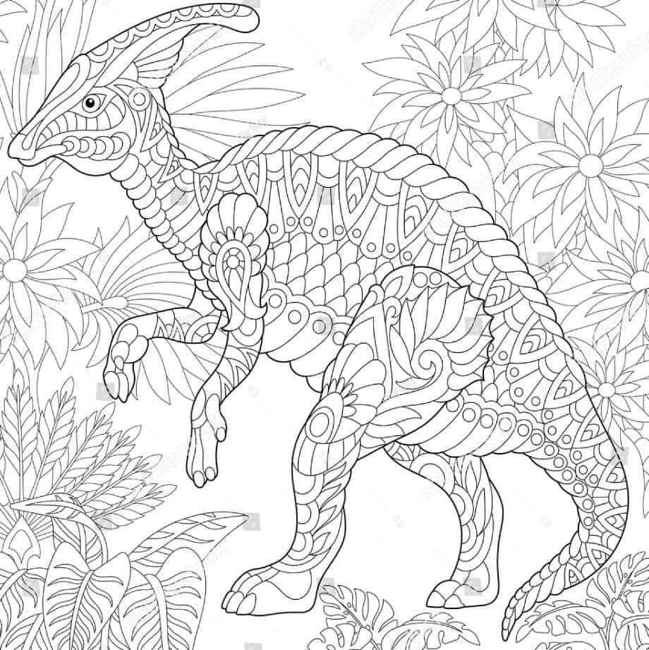 Pattern Coloring Page Dinos Dinosaur Coloring Dinosaur Coloring Pages Dinosaur Pictures