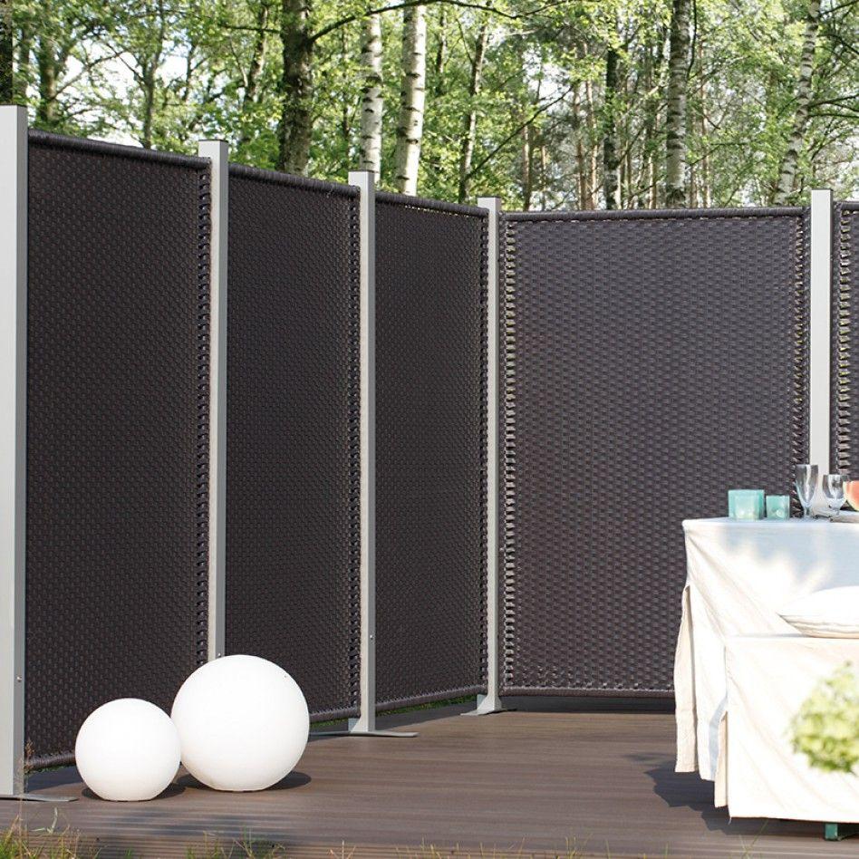 gnstiger sichtschutz awesome der wpc sichtschutz futura besteht aus die sie miteinander alle. Black Bedroom Furniture Sets. Home Design Ideas