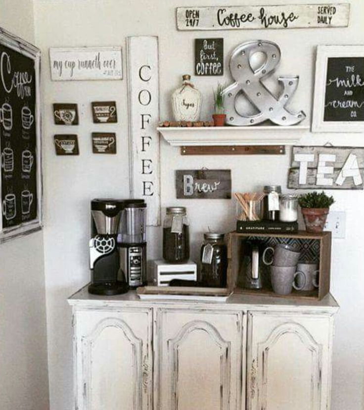 Corner Coffee Station For The Shop :)