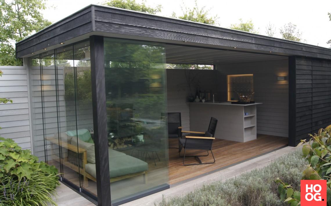 Tuinontwerp met luxe tuinpaviljoen gärten in