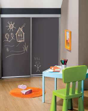 newest collection dd55f 90982 Kids chalk sliding wardrobe door | World of wardrobes ...
