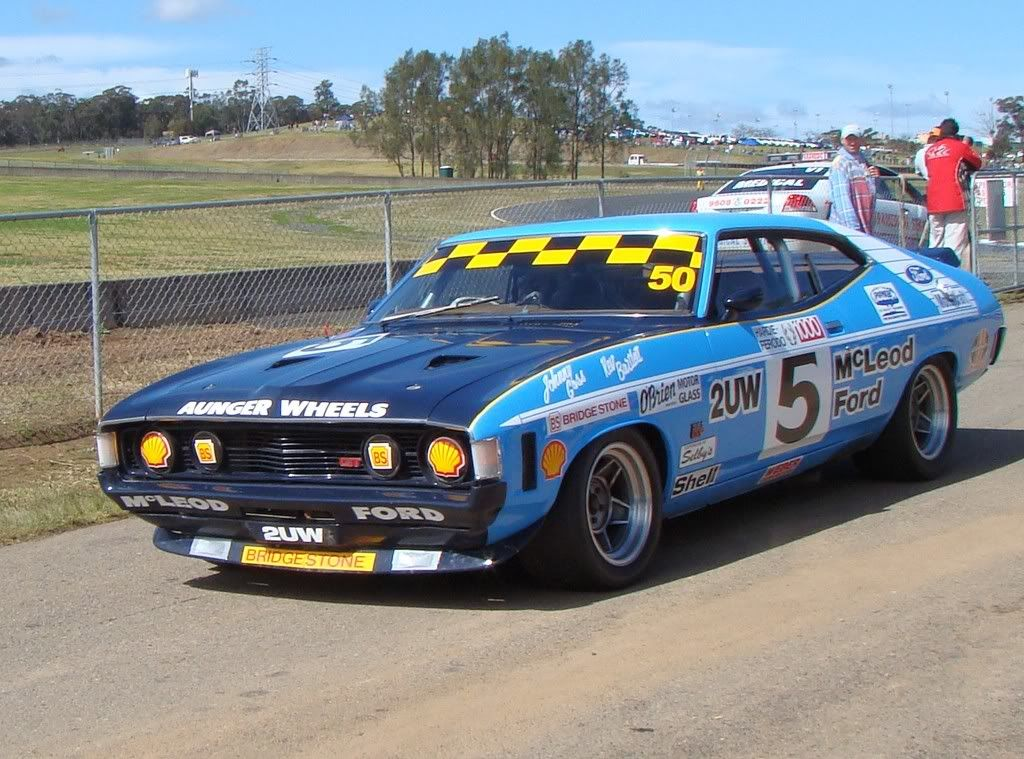 XA GT Falcon coupe John Goss replica Bathurst winner