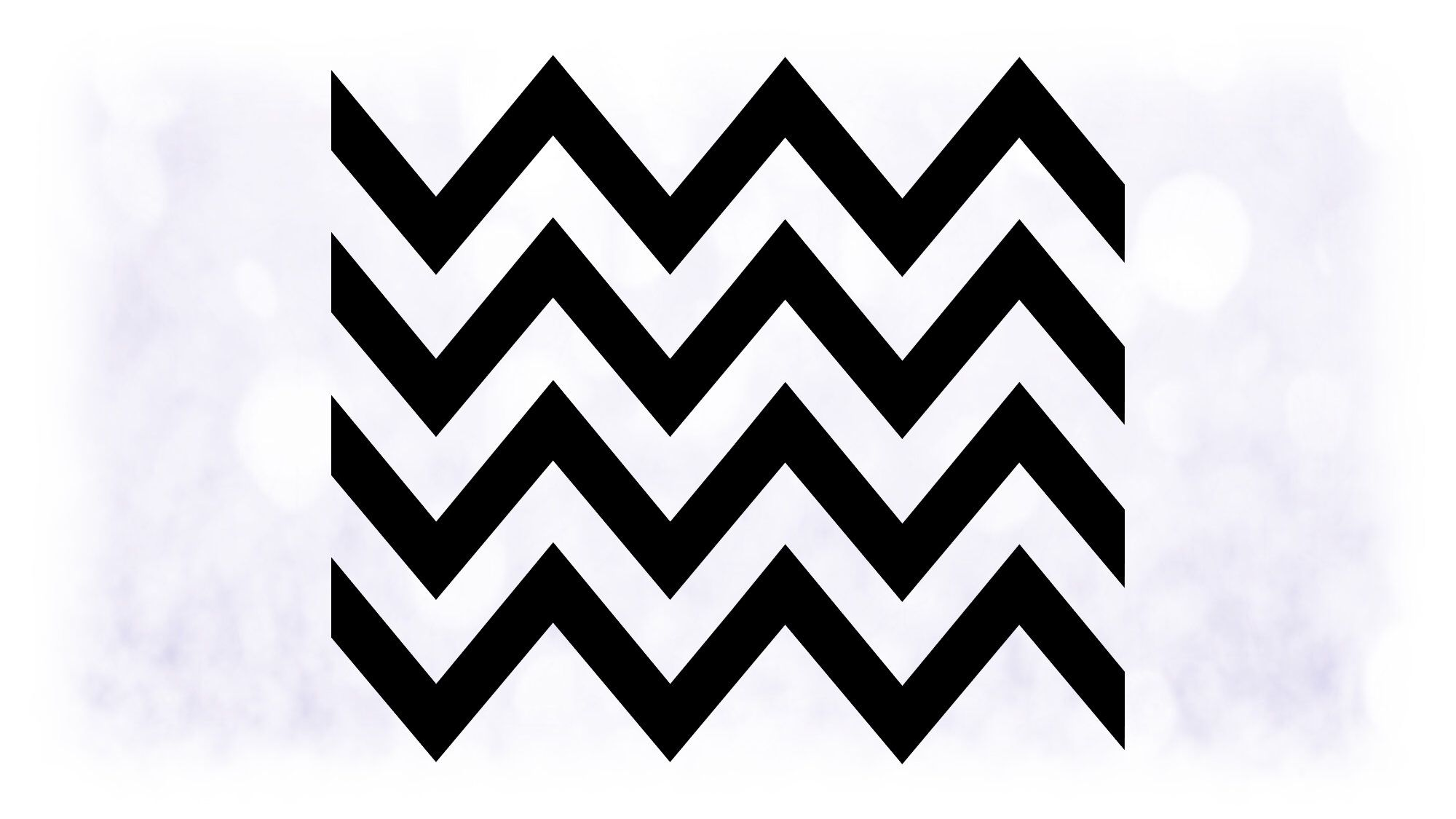 Shape Clipart Large Black & White Chevron Wavy Lines
