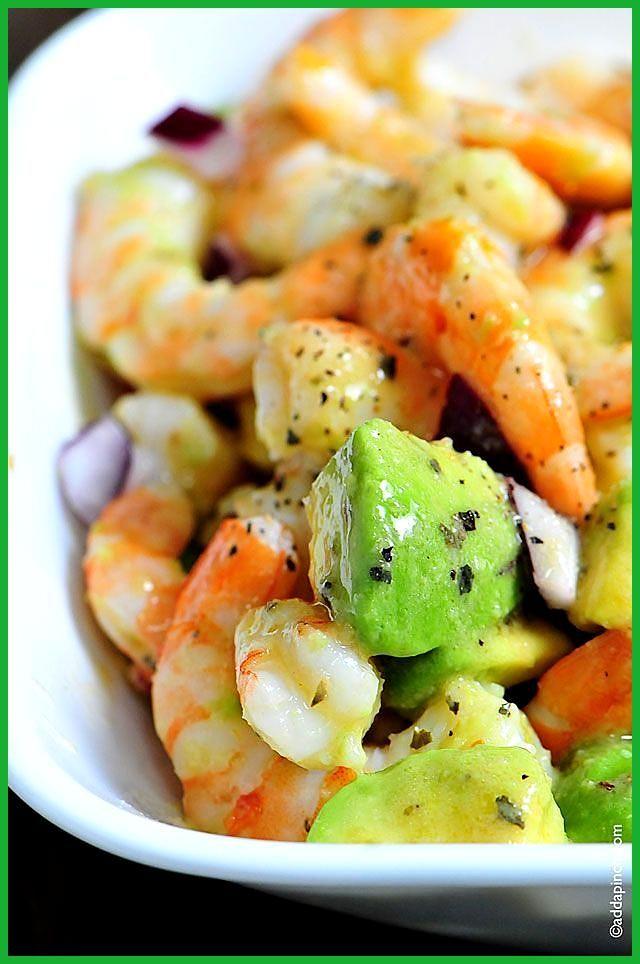 Shrimp Avocado Salad Recipe Add a Pinch Shrimp Avocado Salad Such a tasty lunch or light supper T