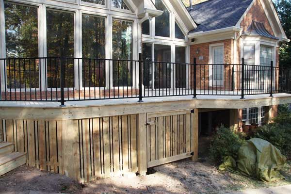 Storage Under Deck Ideas Storage Make Your Deck Or