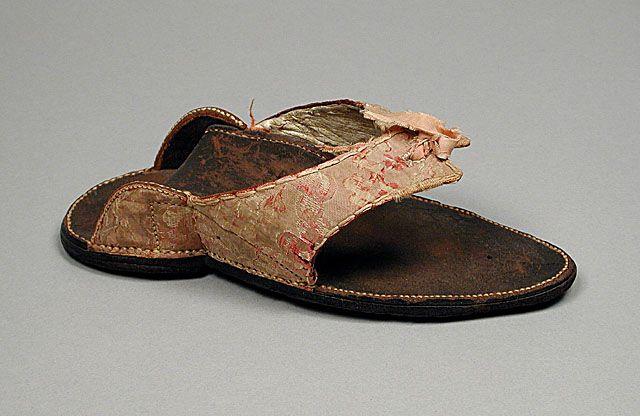 """""""England  Woman's Clog, circa 1750"""""""