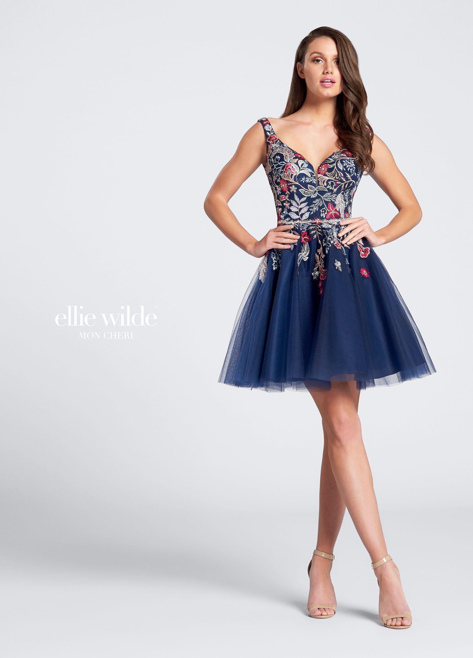 bec096b1ec0 Short Full Skirt Prom Dress