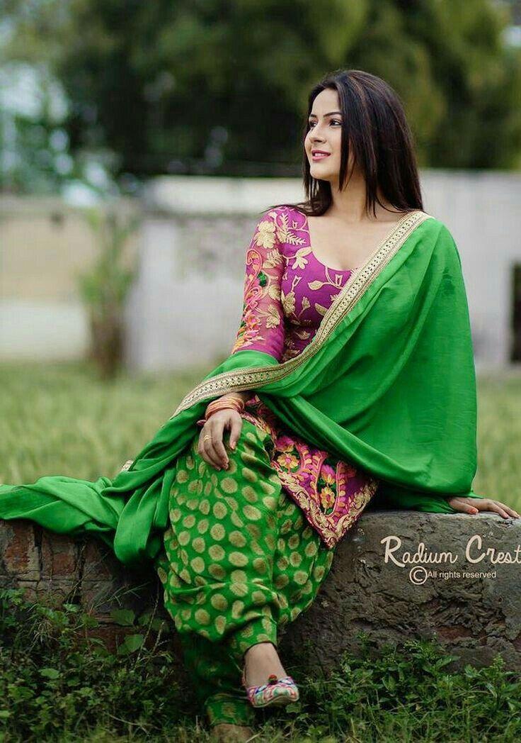 Pin By Bushra Mirza On Punjabi Dress  Fashion, Indian -5513