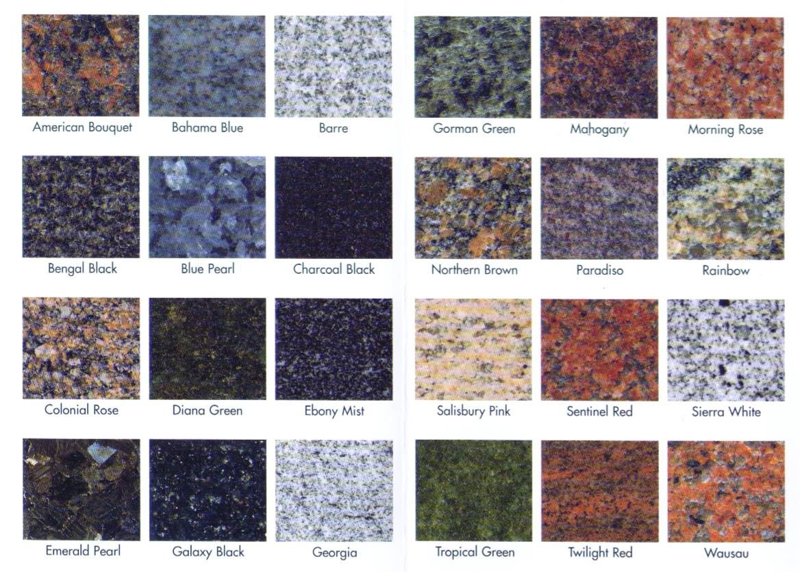 Granite Kitchen Countertops Colors The Variety And Versatile Range Of Colors Granite Offers Can