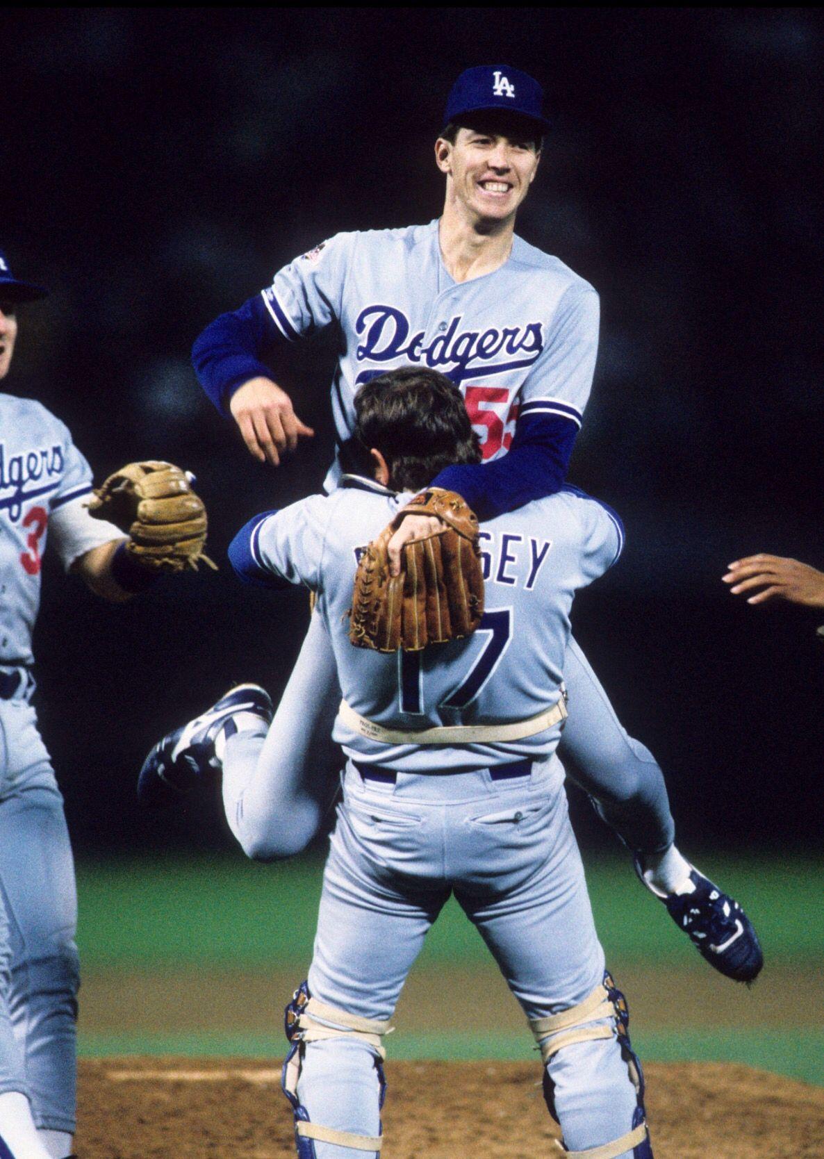Orel Hershiser 1988 World Series Dodgers Baseball Dodgers Nation 1988 Dodgers