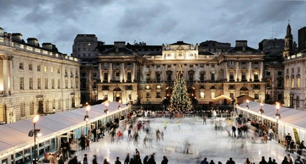 The world's best Christmas ice rinks