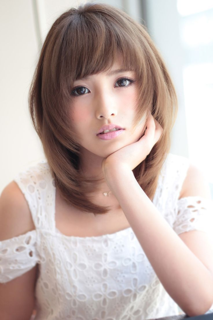 Terrific Medium Japanese Hairstyle Best Asian Medium Hairstyles For Women Hairstyle Inspiration Daily Dogsangcom