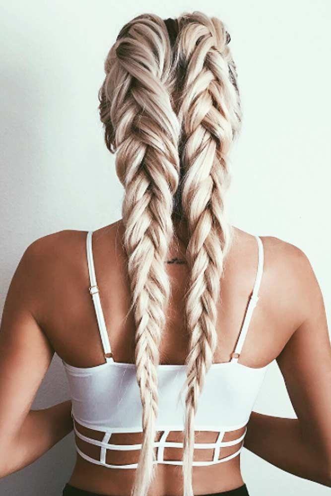 54 Cute And Creative Dutch Braid Ideas Hair Hair Styles Hair