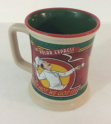 Polar Express Coffee Mug by Warner Bros. Chef With Hot, Hot, Hot, Ceramic | eBay