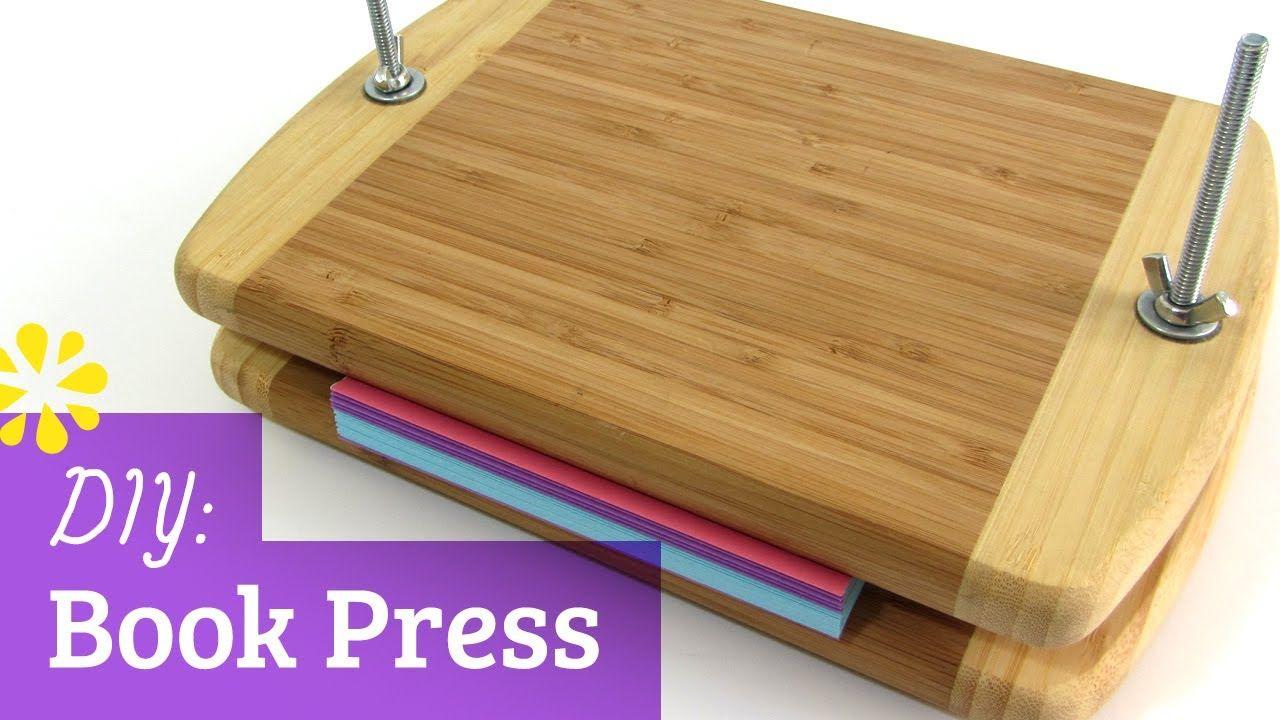 DIY Book binding press Book binding, Bookbinding tools