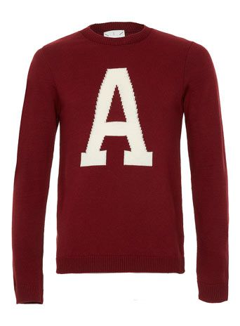 Red Letter A Jumper - How can I continue living without this ...