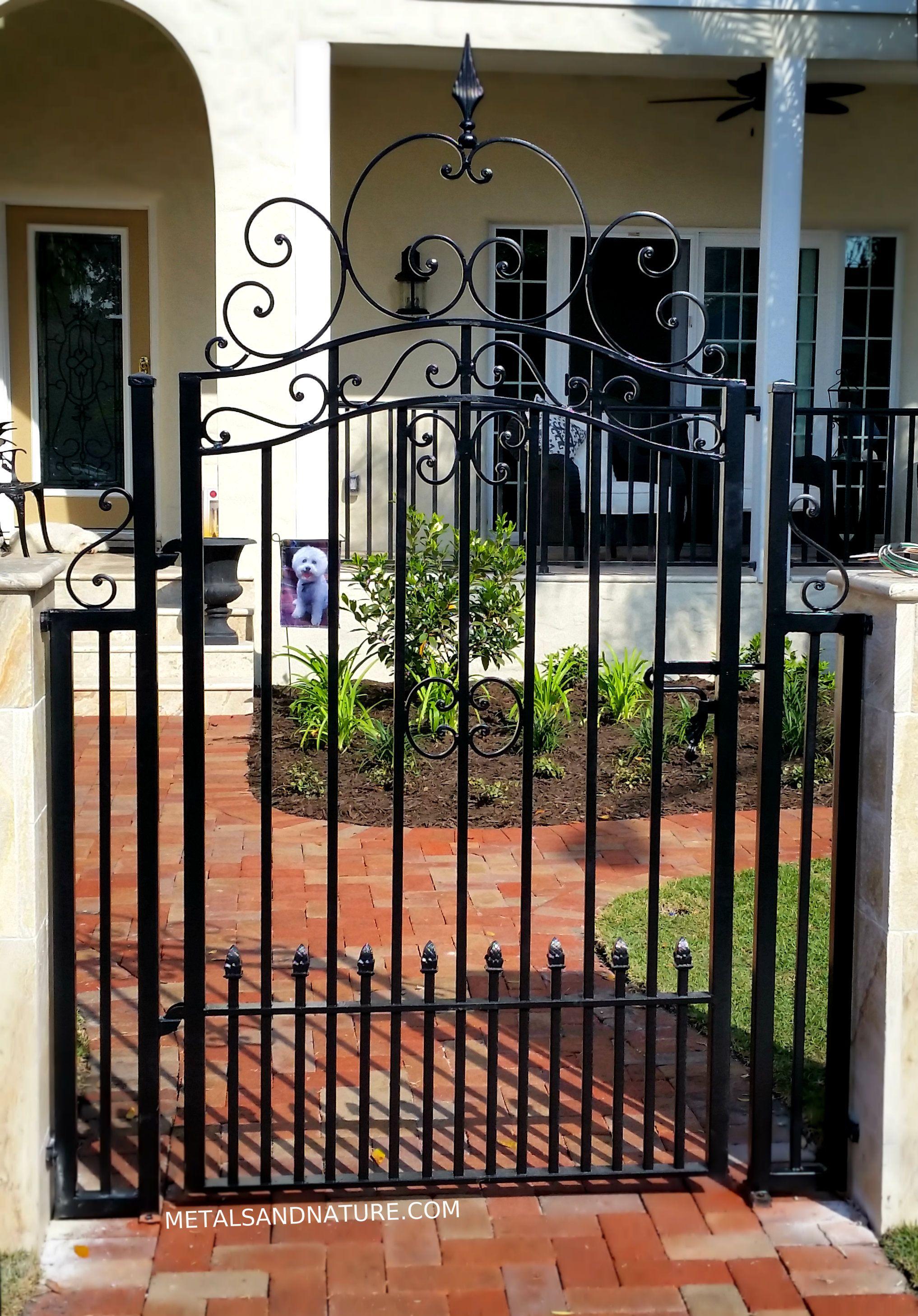 Handmade Iron Garden Gates Tampa Fl Iron Garden Gates Garden