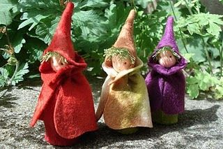 autumn elves, lots of pretty things, in Dutch