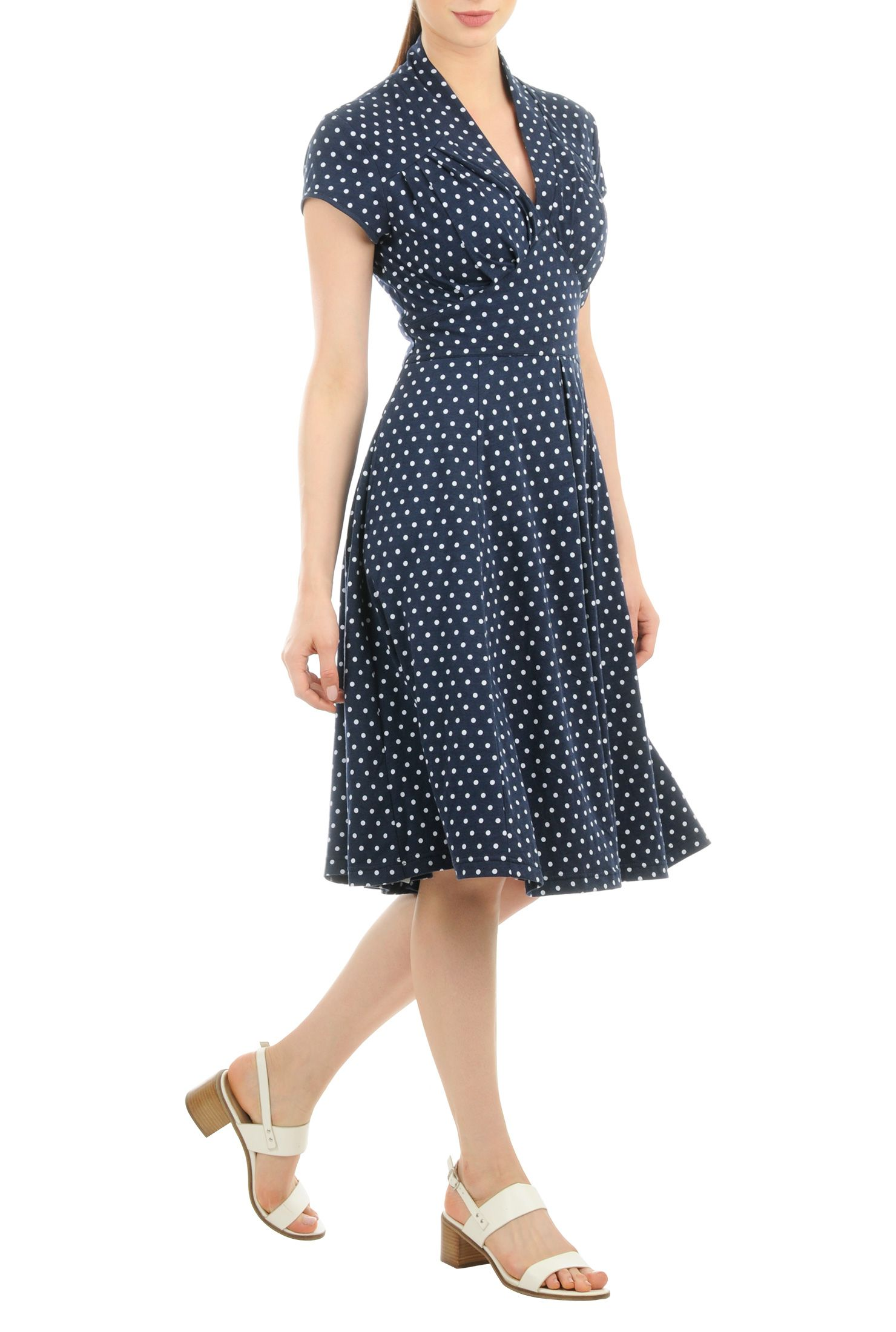 Jersey Knit Dresses for Women