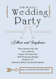 wedding invitations invitations and announcements eloping party