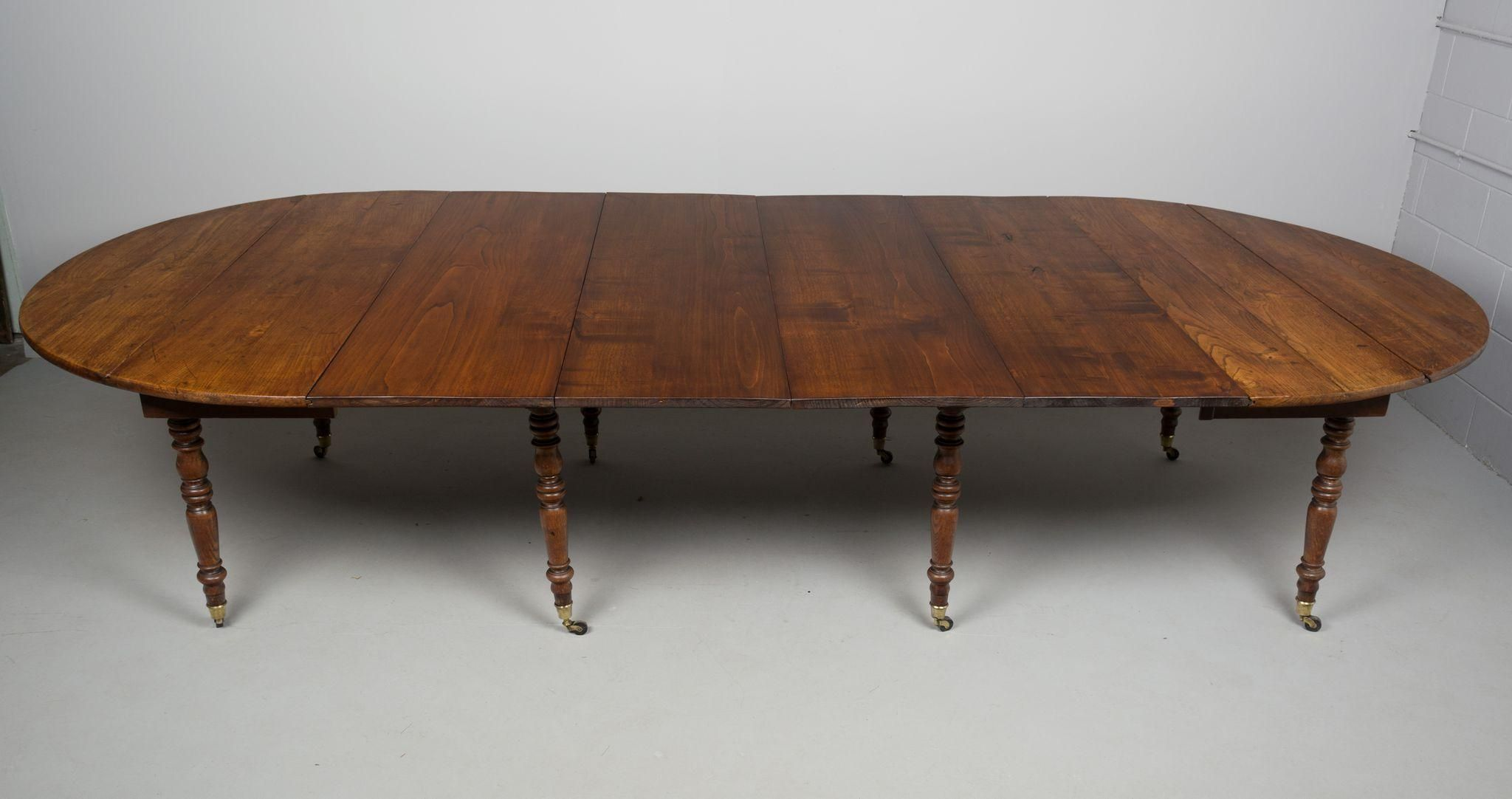 19th Century Louis Philippe Dining Extension Table
