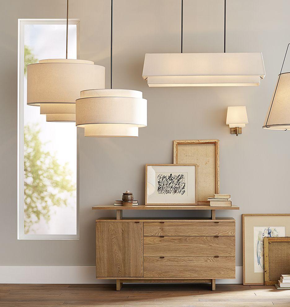 30 Tiered Drum Pendant 天井 ライト 照明設備 インテリア