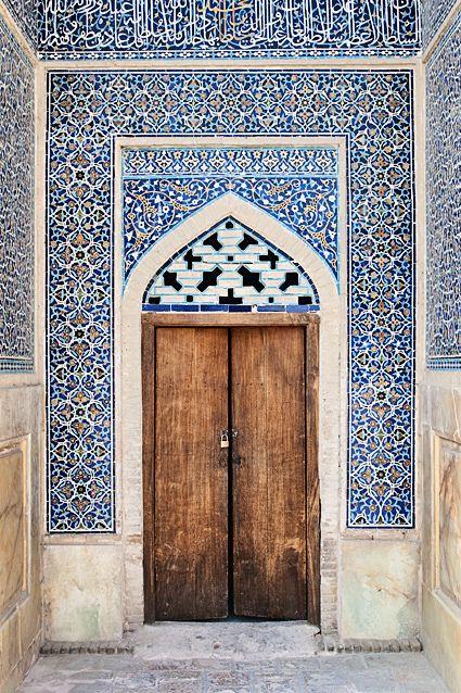 Gorgeous tile work.