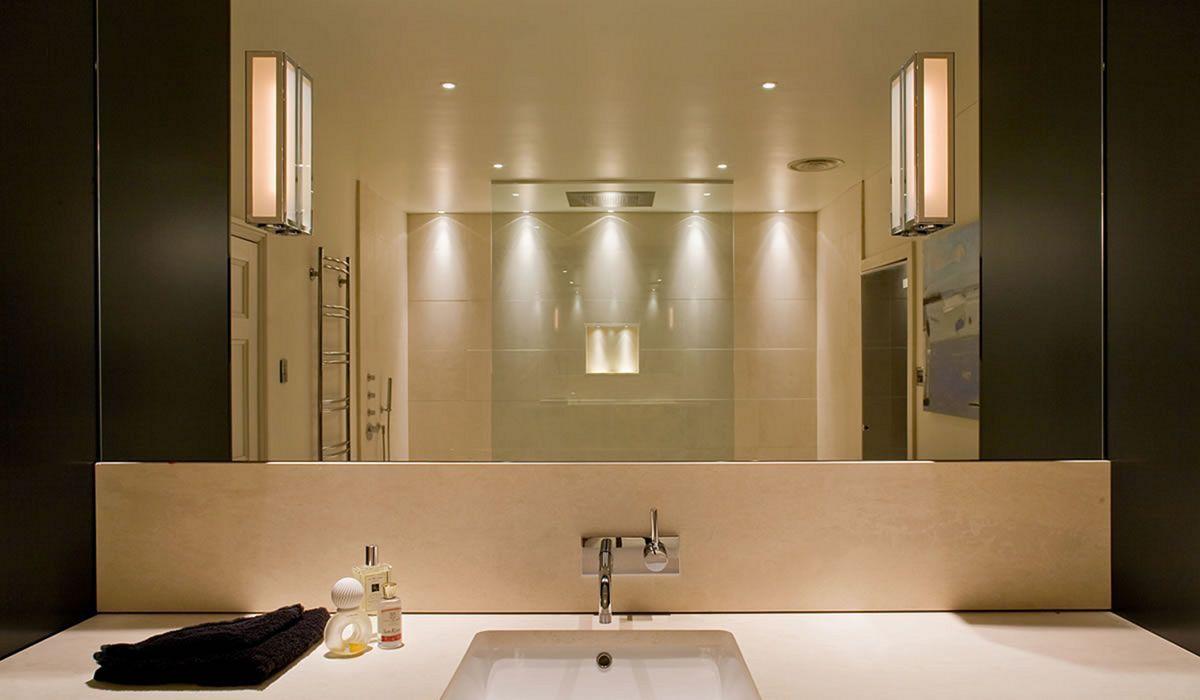 Amazing 25 Bathroom Lighting Design Ideas To Make Your Bathroom More Beautiful Freshouz Com Modern Bathroom Lighting Bathroom Light Fixtures Contemporary Bathroom Lighting