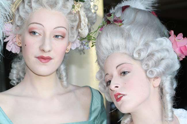 French revolution makeup Marie Madame de