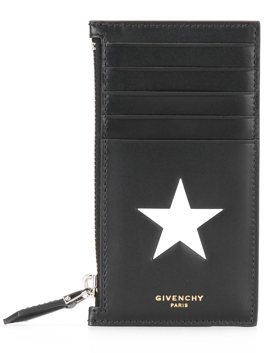 Givenchy Porte-cartes en cuir texturé yYnR7YZykH