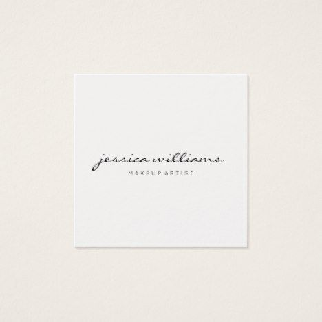 Minimalist modern professional square ii square business card minimalist modern professional square ii square business card businesscards zazzle reheart Image collections