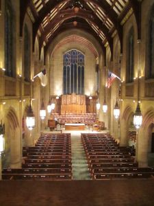 Interior First Presbyterian Church Of The Covenant Erie PA White WeddingsWedding VenuesWedding Reception