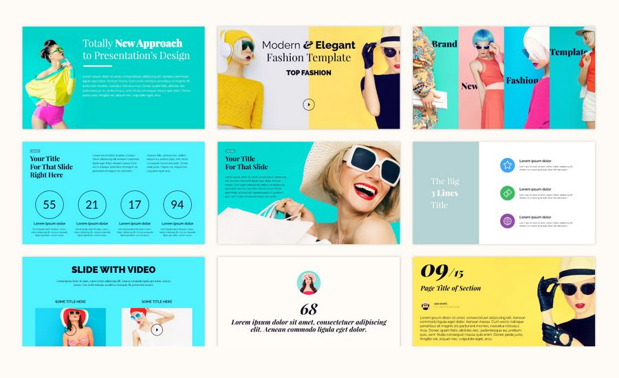 Beautiful Premium Powerpoint Presentation Templates
