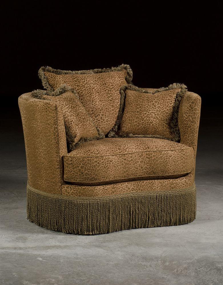Fantastic Leopard Print Swivel Barrel Chair Luxury Upholstered Download Free Architecture Designs Scobabritishbridgeorg