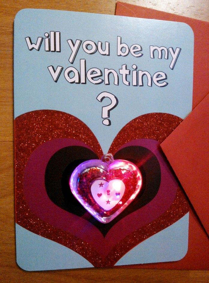 Add An Led Heart For An Easy Valentines Craft Valentine Crafts Easy Valentine Crafts Cute Valentines Day Ideas