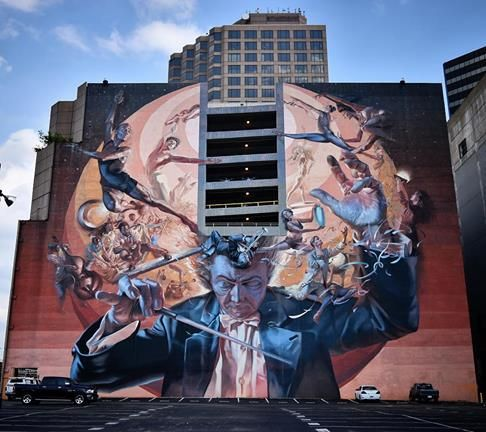 Eyecon murals in dallas usa 2017