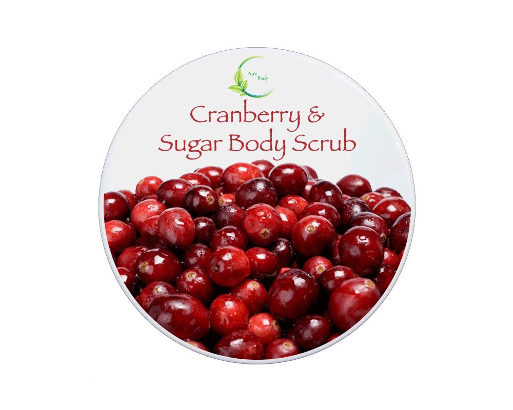 Cranberry & Sugar Scrub
