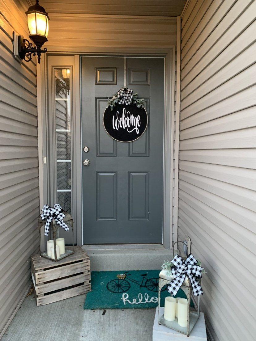Photo of Wreaths for front door, Spring Wreaths for Front Door, Spring Wreath for Front Door, Door Hanger , Wreath for Front Door, Spring Wreath