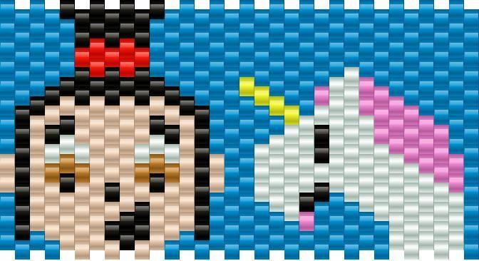 agnes despicable me bead pattern | Perler Beads | Pinterest | Bead ...