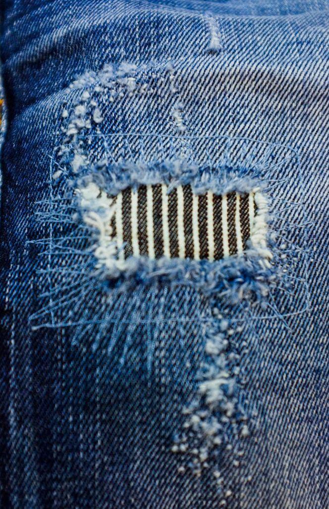Denim Patchwork Denim Repair Repair Jeans Mending Clothes