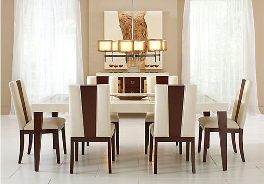Picture Of Sofia Vergara Savona Ivory 5 Pc Rectangle Dining Room From Dining  Room Sets Furniture Photo