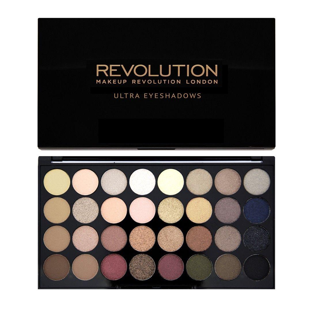 Ultra 32 Shade Eyeshadow Palette FLAWLESS Makeup